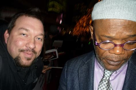 Samuel L. Jackson Photo with RACC Autograph Collector RB ...