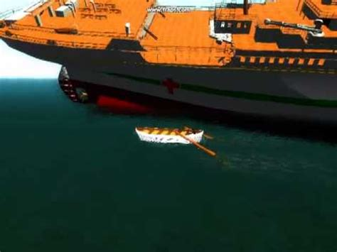 gta sa britannic sinking old version youtube