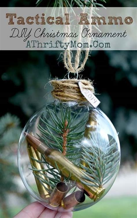 homemade christmas ornaments homesteading