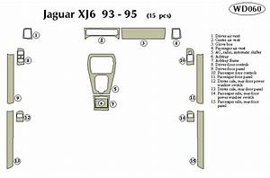 Jaguar Xj6 1993 1994 1995 Dash Trim Kit