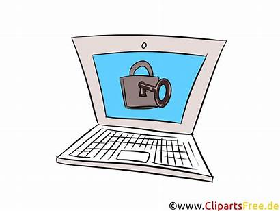 Clip Security Computer Clipart Technology Icon Clipartsfree