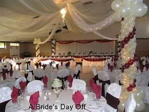 Wedding Reception Hall Decorations / design bookmark #2642