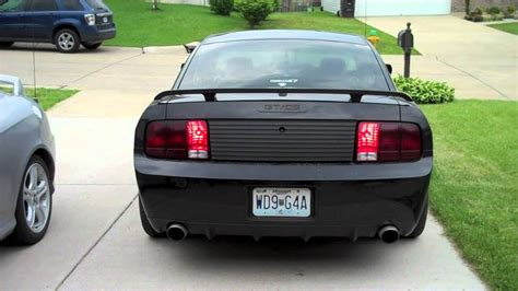 sequential taillights 2007 mustang gt cs