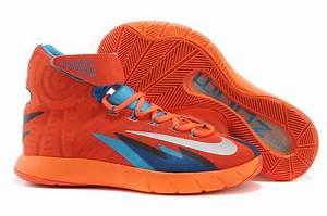 Nike Zoom Hyperrev Kyrie Irving Shoes Orange Blue - Jordan ...