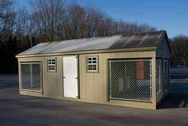 Maryland kennels and dog houses by the amish sold and for Amish dog kennel plans