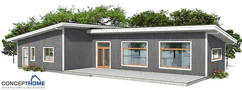cheap house plans to build small house ch3 to wide lot with affordable building