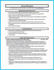Qualification Sample For Resume Writing Your Assistant Resume Carefully