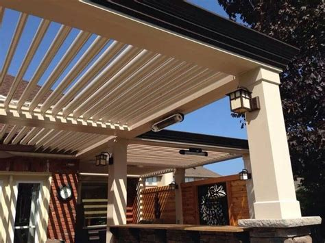 arcadia louvered roof variety of installation types