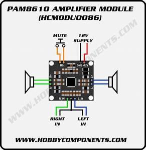 Pam8610 10w Stereo Audio Amplifier Module