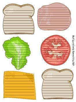 sandwich paragraph writing great  teaching