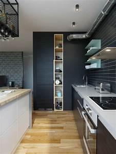 Küchen Wandregale : wandfarbe k che ausw hlen 70 ideen wie sie eine ~ Pilothousefishingboats.com Haus und Dekorationen
