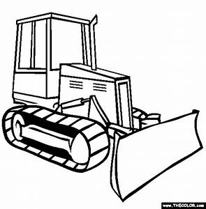 Trucks Online Coloring Pages | Page 1