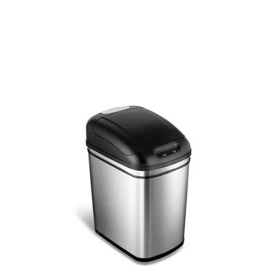 Trash Can 9 Inches Wide by 9 Inch Wide Trash Can Wayfair