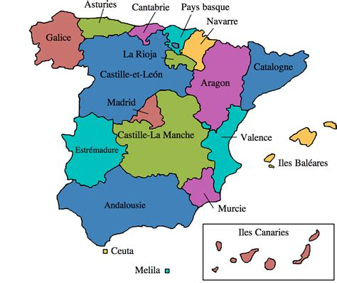 Carte D Espagne Avec Villes by Les 3 Bateaux De Christophe Colomb