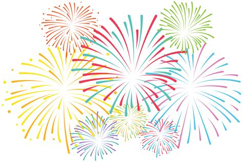Clipart Fireworks Fireworks Clipart Basic Pencil And In Color Fireworks