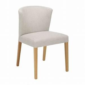 Chaise Chene Clair : valentina chaises de salle manger gris souris tissu bois habitat ~ Teatrodelosmanantiales.com Idées de Décoration