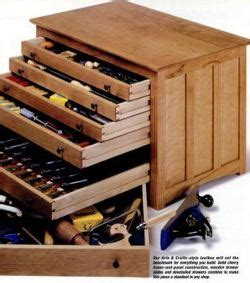 toolbox woodworking plans instructions    build