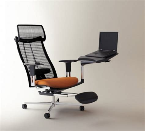 innovative ultra comfortable chair and computer