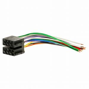 Universal Male Iso Radio Plug Adapter Auto Wiring Cable Stereo