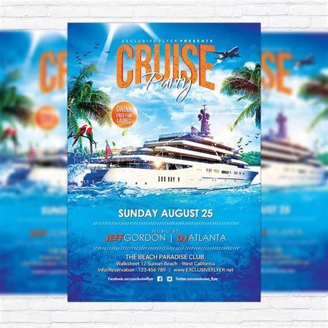 cruise flyer images  pinterest