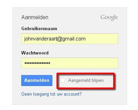 gmail inloggen mijn