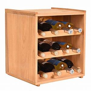3 tier 12 bottle natural wine wood storage cabinets With kitchen colors with white cabinets with candle holders for wine bottles