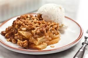 Apple Crisp with Oatmeal Recipe