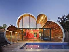 Modern And Unique House With Cloud Like Shape Cloud House Home Design 3d House Design Unique House Designs Unique Home Designs Modern With Unique Shape Mounted Unique Desk Designs For Your Work Or Home Modern Architecture Design Modern House Design And Modern Residential