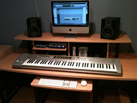 music studio desk workstation diy home recording studio google search home studio