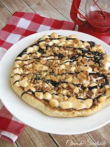 S'mores Pizza Recipe - Clean and Scentsible