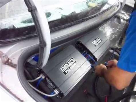 Mmats Pro Audio Amplifier Setup Youtube