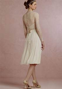 knee length wedding dresses with lace sleeves naf dresses With knee length wedding dresses with sleeves