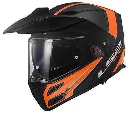 Rapid Ls2 Orange Ff324 Metro Evo Matt