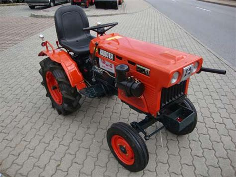 vertikutierer ohne motor kleintraktor kubota b7001 ohne allrad 252 berholt und neu