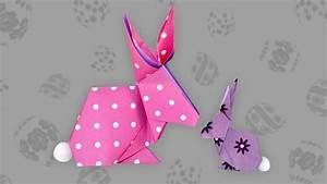 Origami Osterhase Faltanleitung Einfach : origami hase bunny faltanleitung live erkl rt youtube ~ Watch28wear.com Haus und Dekorationen