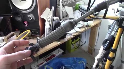 repairing  replacing  sticky gear selector cable