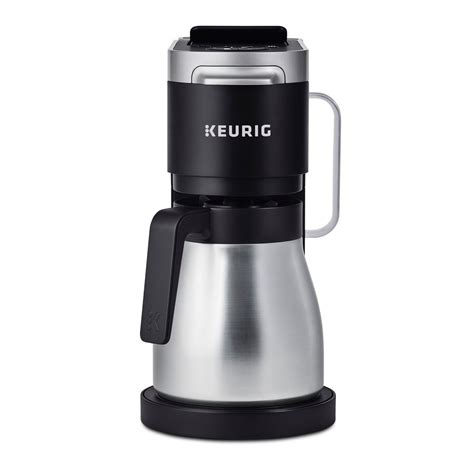 It is perfect in dorm rooms or for anyone wanting a single cup. Keurig®K-Duo Plus™ single serve and carafe coffee maker | Walmart Canada