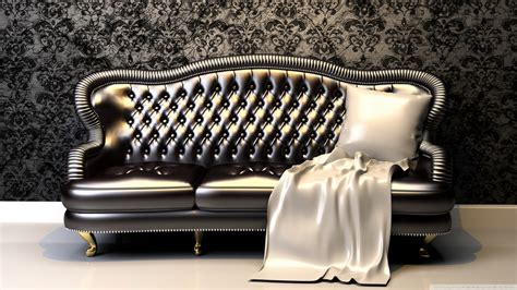luxury sofa ultra hd desktop background wallpaper