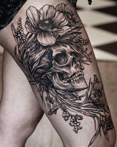 pin  jesyca musolino  tattoos  piercings tattoos floral skull tattoos skull tattoos