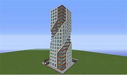 Minecraft Tower Planetminecraft Cool Skyscrapers Easy Blueprints