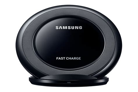 Official Samsung Ep-ng930bbe Black Fast Qi Wireless