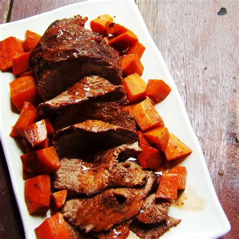 Home recipes food beef recipes beef tenderloin with a giant sauce board. Roast Tenderloin Beef in Red Wine Sauce a la Kusina ni Teds