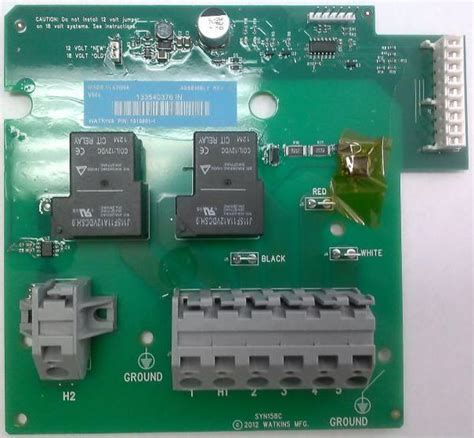 Iq 2020 Circuit Wiring Diagram by Hotspring Spa Iq2020 Heater Relay Board Hotspring Supply