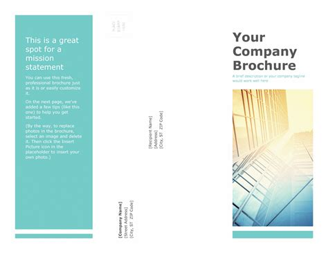 Free Templates For Brochures Microsoft Brochure Templates Csoforum Info