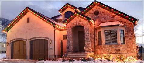 ideas for christmas lights on a ranch house outdoor lights ideas for the roof