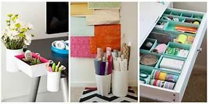 Ways to Organize Your Home Office - Desk Organization Hacks