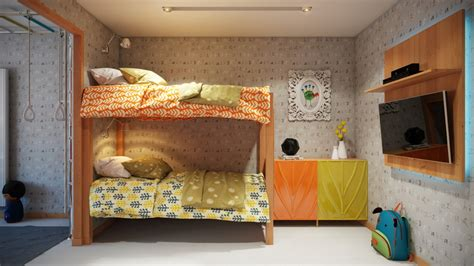 Whimsical Kids Rooms : Bright And Colorful Kids Room Designs With Whimsical