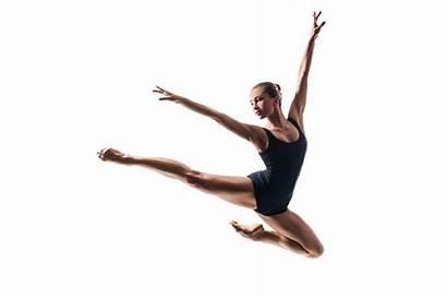 Ballet Ballerina Jumping Contemporary Dancer Dance Jazz