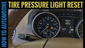 How To Reset The Tire Pressure Light On A 2008 Mercedes