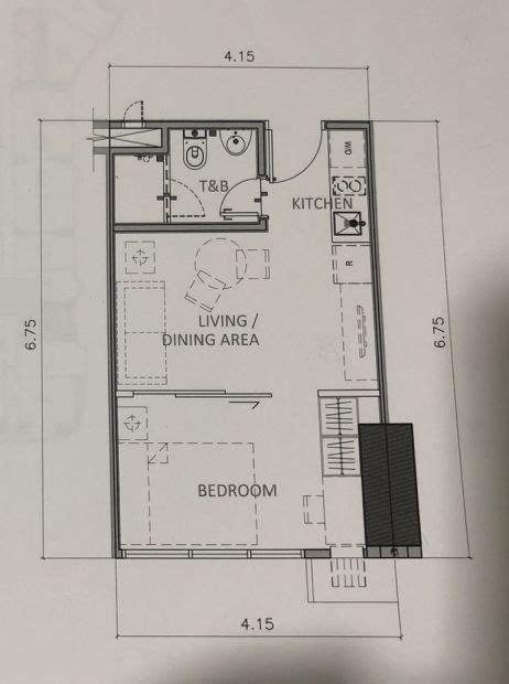 rent  rise makati  bedroom unit
